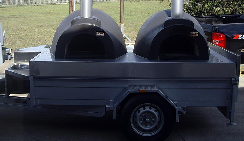 wood fired oven trailers are a great way to make money