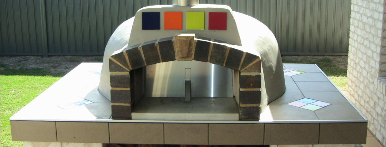 A DIY project using a wood fired oven kit from Fraser Coast Wood Fired Ovens