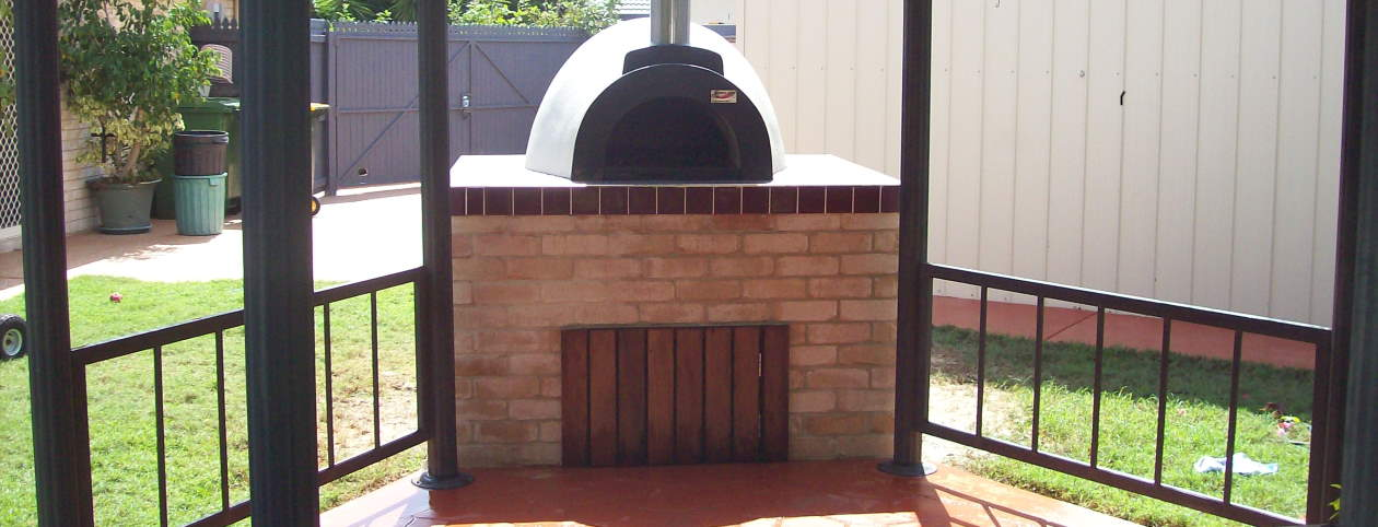 Another stunning DIY wood fired oven from Fraser Coast Wood Fired Ovens
