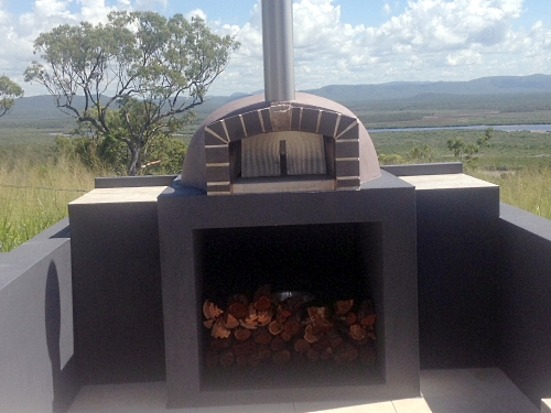 A Sydney Woodfire Ovens unit that comes with a view