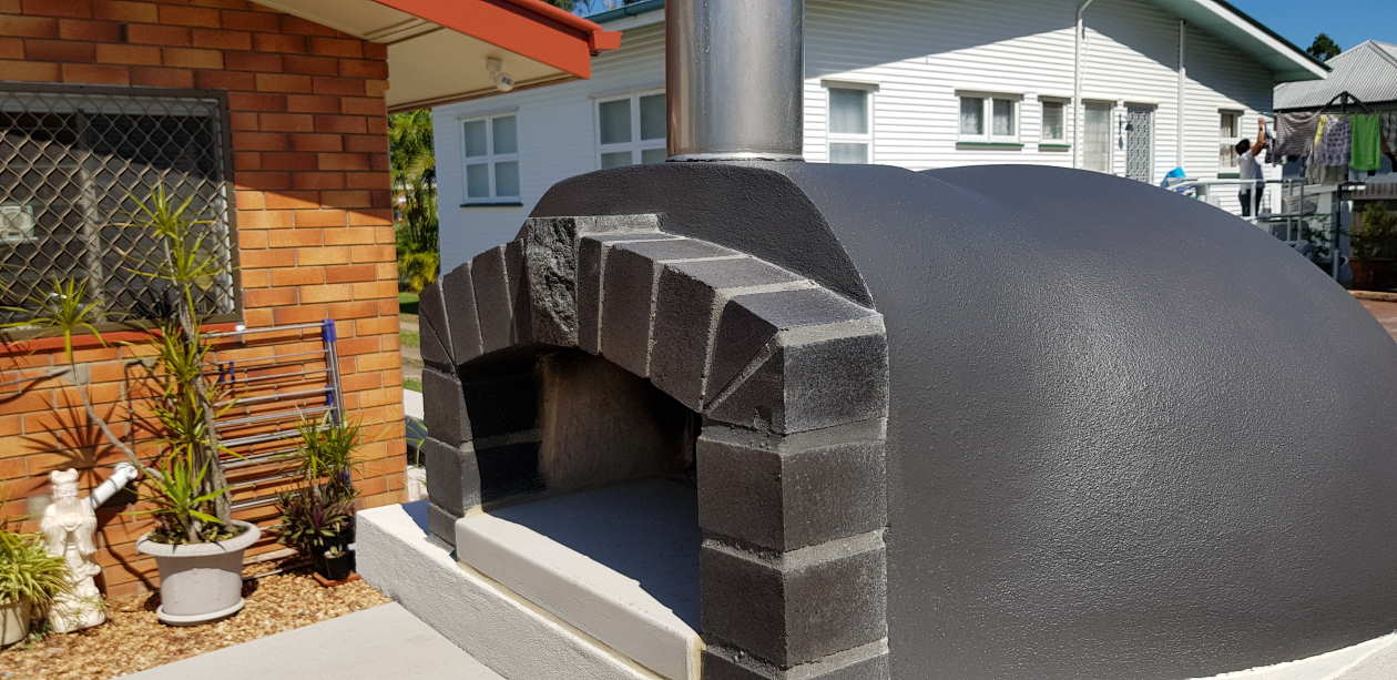 a large wood fired oven from Sydney Woodfire Ovens
