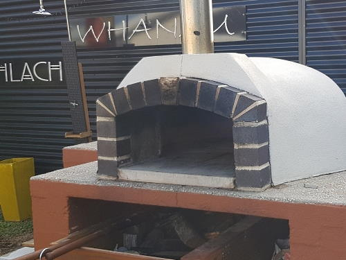 A fine example of a wood fired oven built and installed by Fraser Coast Wood Fired Ovens